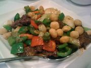 Steak & Scallops with Macadamia Nuts - Perfect!