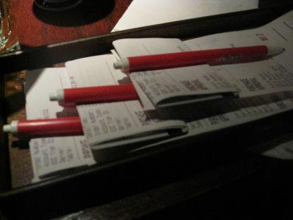 We were pretty insistent on splitting the cheque 10 ways - ha!