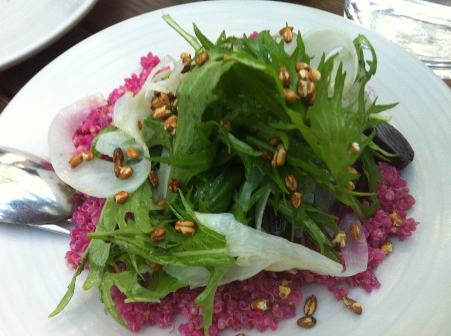 Beetroot, Quinoa, Fennel Salad