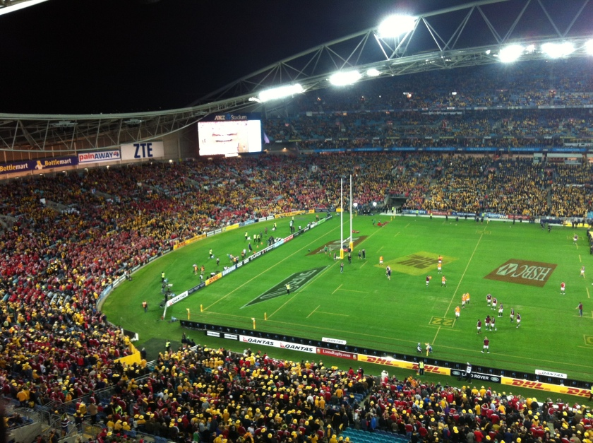 30k British and Irish fans travelled to Australia for these games