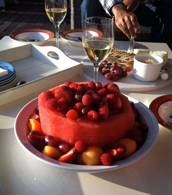 Watermelon ring a la Norma's