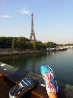 Tour Eiffel from the Pont de l'Alma