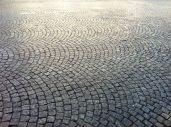 Those famed cobbled streets