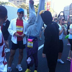 The inverted runner