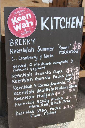 Keen-wah brekky