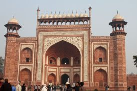 The Great Gate to the Taj