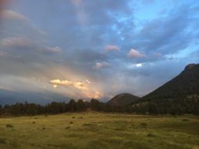 Sunset on Trail Ridge