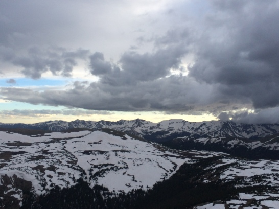 The uninterrupted Rockies