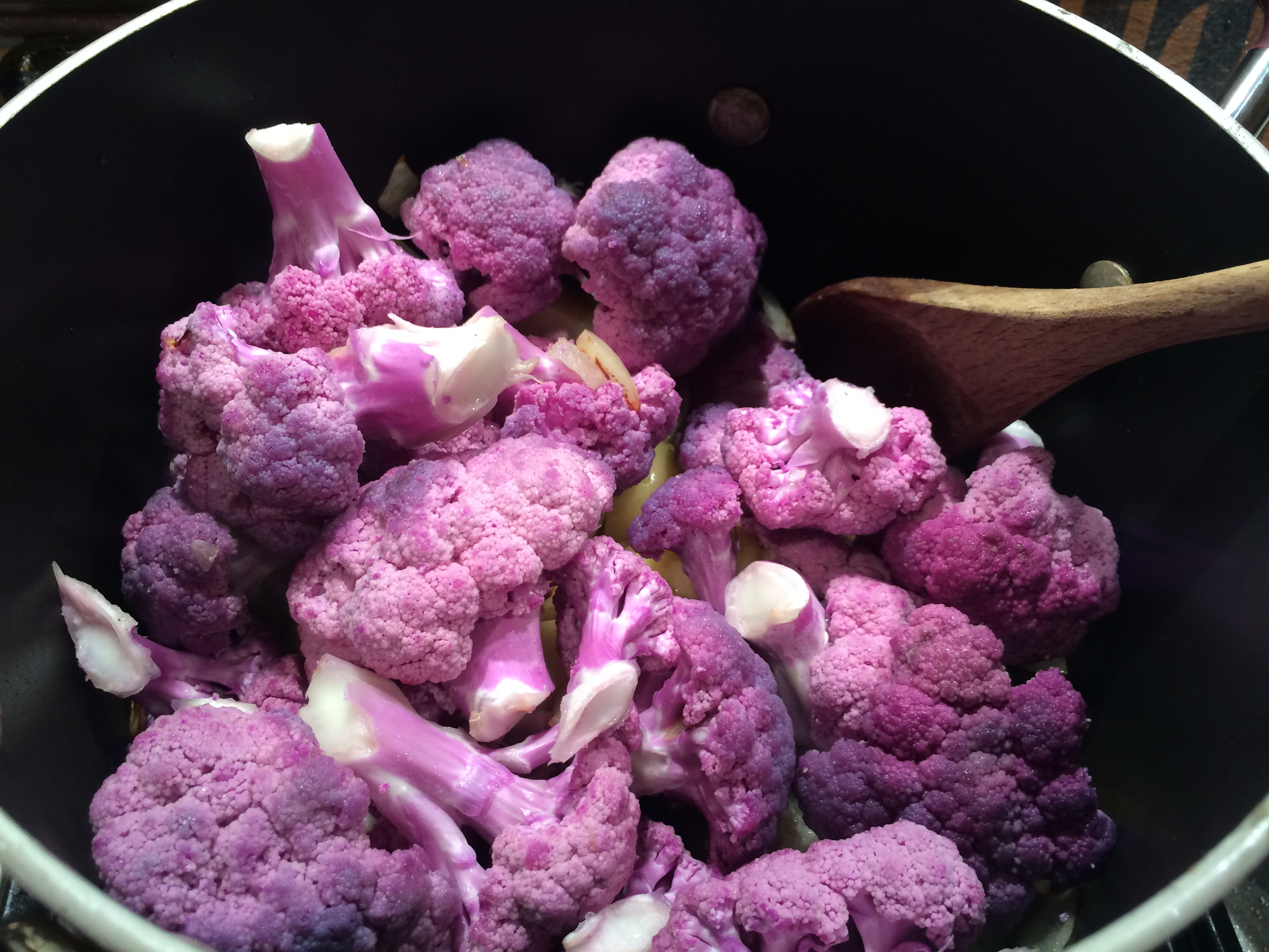 Purple Cauliflower Soup | A Wandering Feast