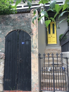Two beautiful entryways