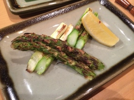 This might have been the tastiest asparagus ever