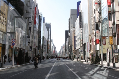 In contrast, Ginza reminds me a lot of Midtown Manhattan