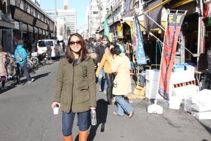 Me at Tsukiji