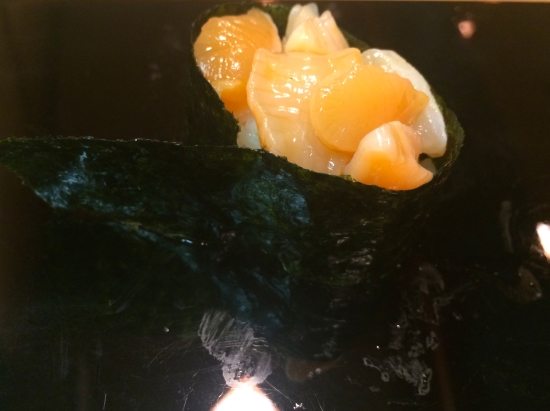 Baby scallops