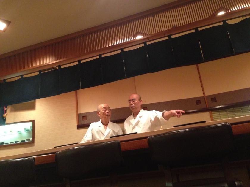 Jiro and Yoshikawa