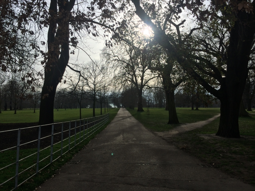 Mid-afternoon in Hyde Park